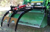 113300 Extended Tine Single Add-A-Grapple Bucket Grapple