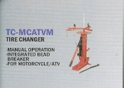 TC-MCATVM Manual Tire Changer Motorcycle And ATV