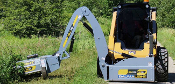 SWA540 Baumalite Skid Wing Articulated Arm Mount Flail Mower