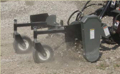 PXS-305 Worksaver Powered Landscape Rake Mini/Compact Skid Ldrs