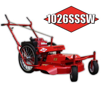 1026SSSW Sarlo Self-Propelled Mower 26 Inch With Swivel Wheels