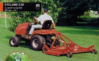 Model C30-RD6H Rear Discharge finishing mower with 72 inch cutting width