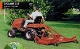 Model C30-RD4A tractor mounted finish mower for tractors from 16 to 30 hp, 48 inch cutting width, with air tires