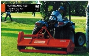 Model H40-048 tractor mounted, category 1 three point hitch, 540 rpm pto powered finish type flail mower.