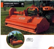 H40-S48 Befco Hurricane Flail Grooming Mower With Side Shift