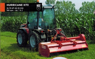 Model H70-060 Befco Hurricane Flail Mower