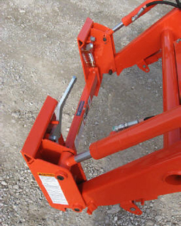 835160 Adapter Plate Kubota LA524 LA525 Loaders To Skid Steer QA
