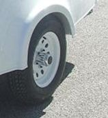 Model 12isparewht Spare Tire And Rim 12""