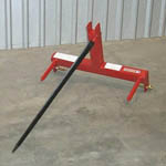 BSF-1523 Single Spear Bale Spear 3 Pt. Hitch Mount Cat 1 and 2