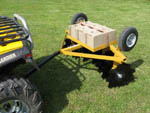WOFOD-16 ATV Tow Behind Disc Harrow