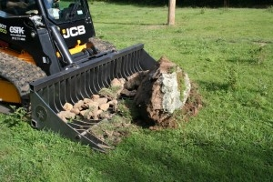RB72 Skid Loader Mount Rock Bucket 72 Inches Wide
