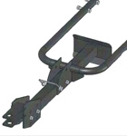 Part No. WL1082A355 Garden Trailer Hitch attachment for the BXMC chipper/shredders
